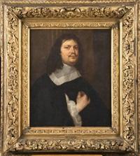 portrait d'un gentilhomme à la collerette blanche by ferdinand bol