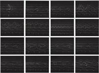 pedestrian vibes study (set of 16) by olafur eliasson