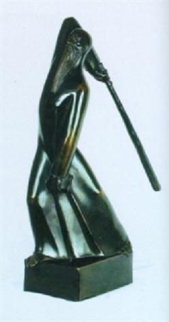 old testament figure by george manuel aarons
