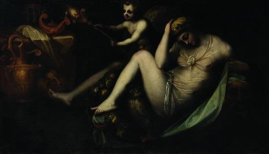 allegoria della notte by rosso fiorentino giovanni battista di jacopo