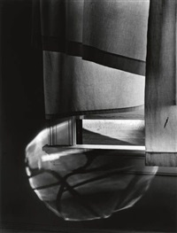 windowsill daydreaming, rochester, n.y. by minor white