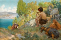 fisher_percy harland young shepherd by p(ercy) harland fisher