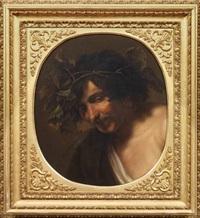 bacco ebbro by angelo caroselli