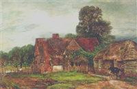 berkshire farm building of the olden times by henry mark anthony