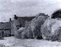 kerhastin (finistere) haystacks by walter griffin