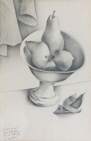 nature morte au compotier by jacques lipchitz