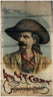 buffalo bill's wild west, johnny baker - the cowboy kid by posters: buffalo bill