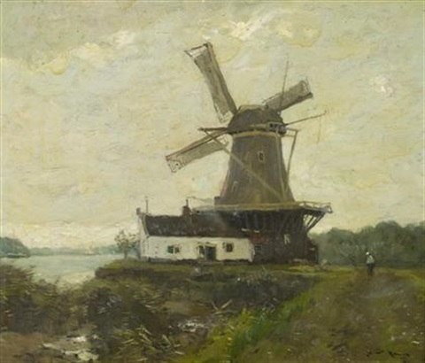 the windmill by henry ward ranger