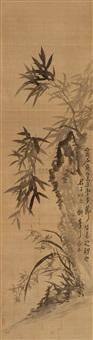 兰竹图 (bamboo and orchid) by jiang he
