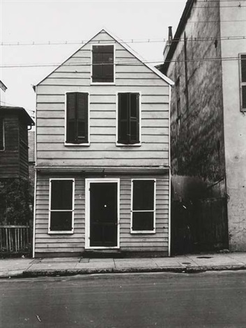 house with shuttered windows new orleans by peter sekaer