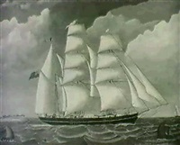 the barque caroline sainty by terence shorey