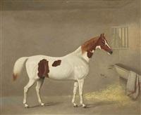 cheval dans une étable by george jackson