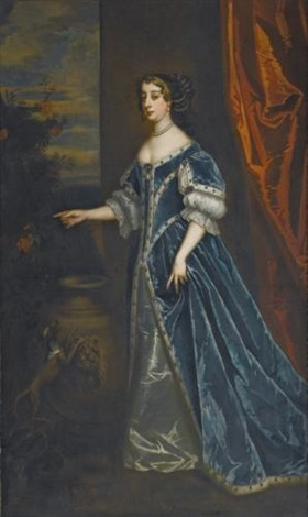 portrait of barbara villiers duchess of cleveland and countess castlemaine 1640 1709 by sir peter lely