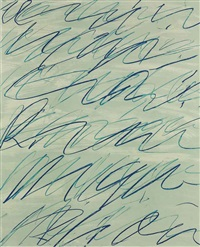 roman notes ii (from roman notes) by cy twombly