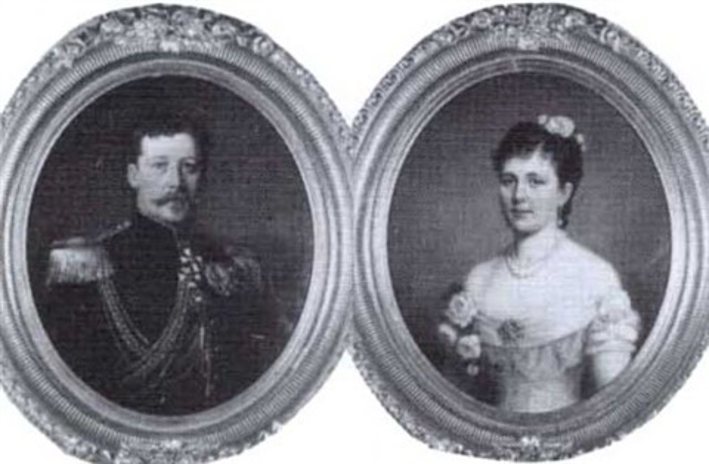 landshovding adolf malmborg 1842 1913 och fru julia malmborg 1853 1921 by berta valerius