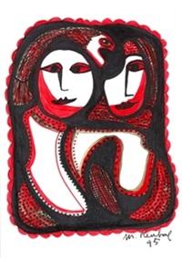figuras femeninas by mercedes ruybal