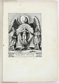 kupferstiche diverser folgen von heiligenbildern und religiösen andachtsblättern (33 works) by karel van mallery