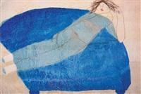 the blue sofa by azade köker