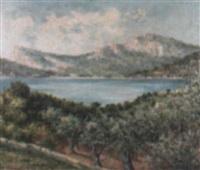 paisaje de mallorca by nicolas forteza