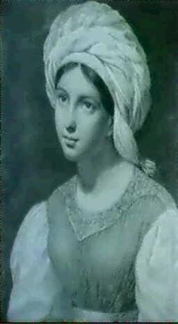 portrait de alexandrine de bra by françois louis dejuinne