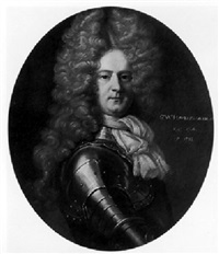 portrait of sir walter hawkesworth, baronet by john closterman