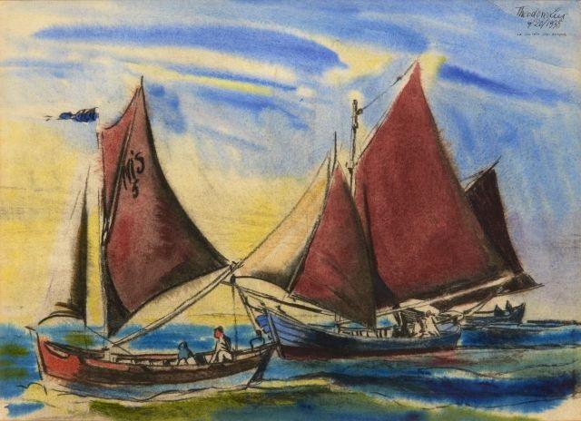 la rentrée des barques by t lux feininger