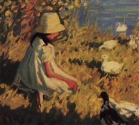 feeding the ducks by helen galloway mcnicoll