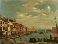 vue de santa chiara à venise by italian school-venetian (19)