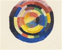 farbenkreis (colour wheel) by august macke