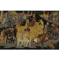 the triumph of scipio africanus by apollonio di giovanni di tommaso