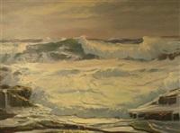 rocky coast by walter bollendonk