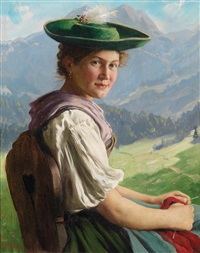 tiroler dirndl by emil rau