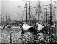 sur le port by anne millasson