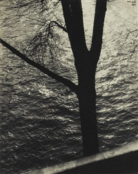 along the seine by ilse bing