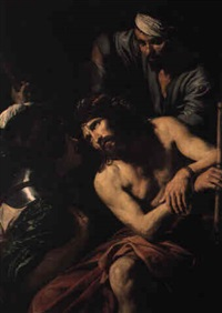the crowning with thorns by jean valentin (de boulogne)