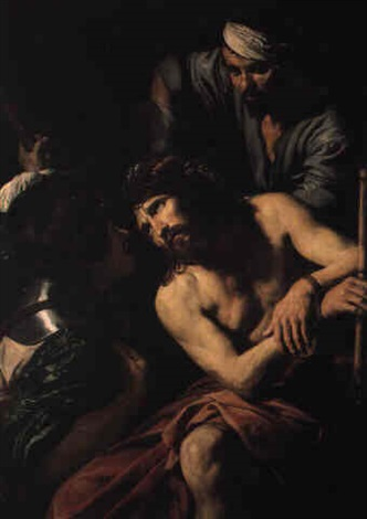 the crowning with thorns by jean valentin de boulogne