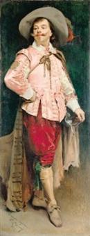 portrait en pied de constant coquelin l'aîné by raimundo de madrazo y garreta