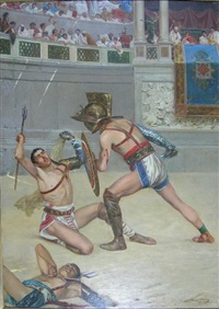 gladiators by gualterio de bacci venuti