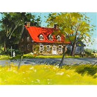 ouimet house, ste. rose by terry tomalty