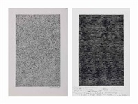 untitled (2 works) by jan schoonhoven