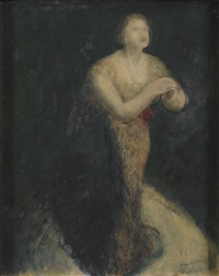 miss dorothy helmrich by william dobell