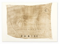 chaise by antoni tàpies