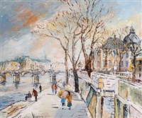 on the banks of the seine by george hann