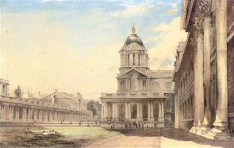 the royal hospital greenwich london by james holland
