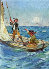fighting the pirate by archibald bertram webb
