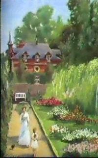 aux jardins de bagatelle by vladimir. sokolov