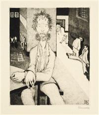 30 radierungen zu gerhart hauptmanns emanuel quint (30 works) by heinrich ehmsen