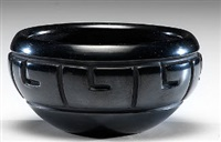 blackware bowl by nathan youngblood