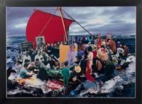 raft of the medusa by hu jieming