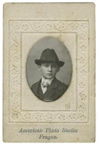 franz kafka on the day of his bar mitzvah, prague, 13 june by f. chipilov et n. miljaev